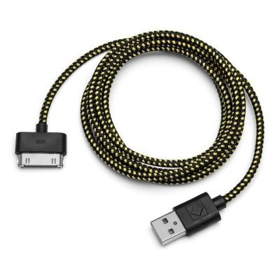 Carwires i304-BLK – Apple 30-PIN Charge & Sync Cable (4 ft.)
